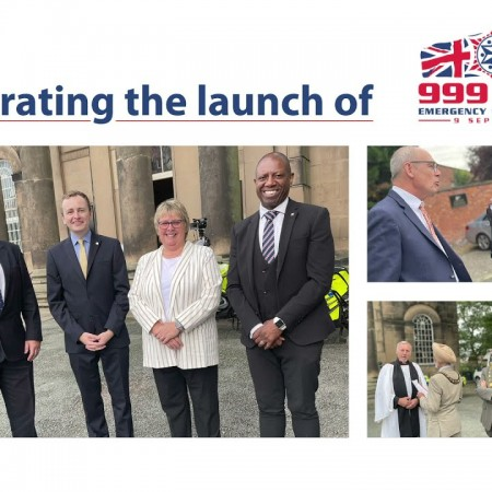 999 Day Ceremony at St Chad's Church in Shrewsbury