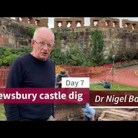 Shrewsbury castle dig - Episode 3