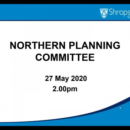Northern Planning Committee held on 27th May