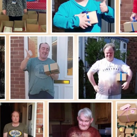 Happy boxes, Virtual day service, Shropshire Council