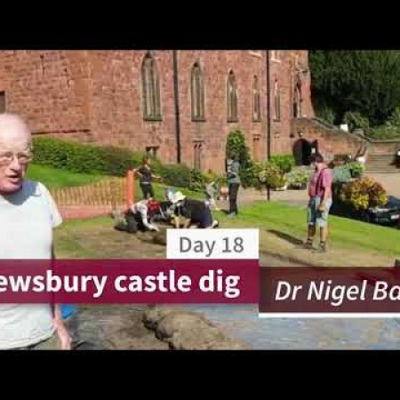 Shrewsbury castle dig - Episode 8