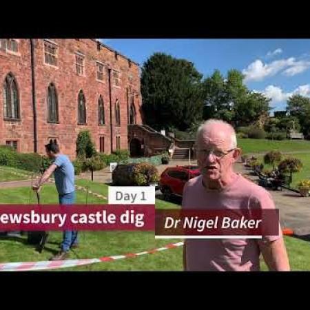 Shrewsbury Castle Dig - Day 1